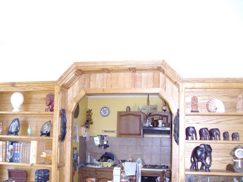 Mur Biblioth Que Avec Porte Int Gr E Aegm Menuiserie